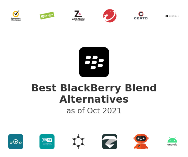 Best BlackBerry Blend Alternatives