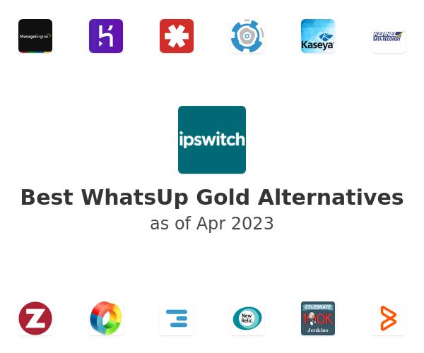 Best WhatsUp Gold Alternatives