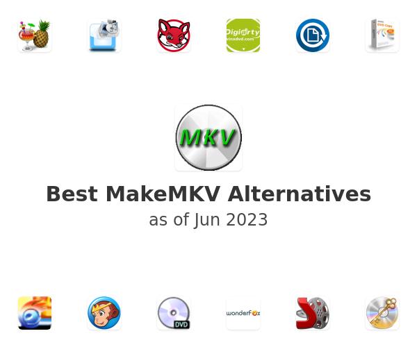 Best MakeMKV Alternatives
