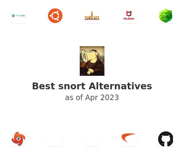 Best snort Alternatives