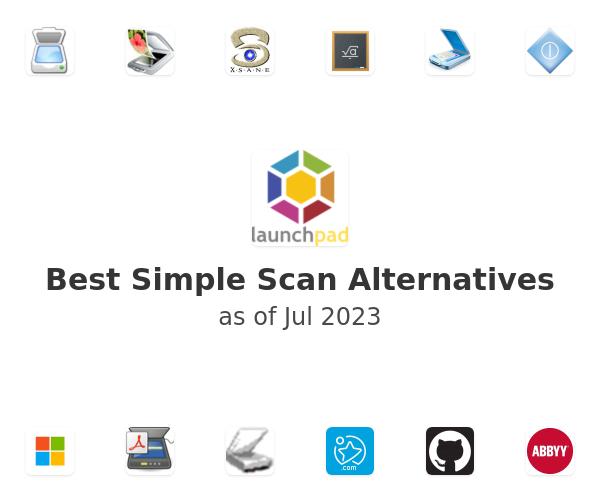 Best Simple Scan Alternatives