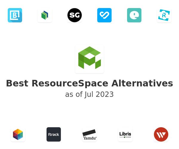 Best ResourceSpace Alternatives
