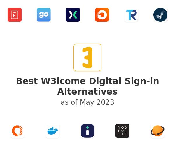 Best W3lcome Digital Sign-in Alternatives