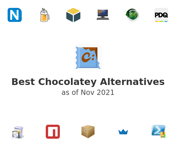 Best Chocolatey Alternatives