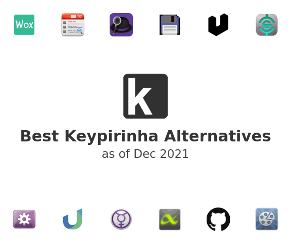 Best Keypirinha Alternatives