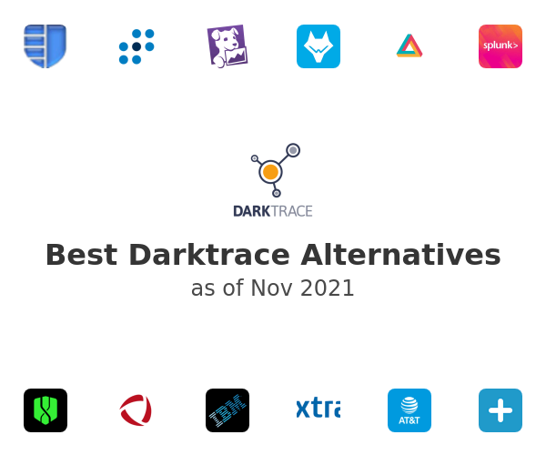 Best DarkTrace Alternatives
