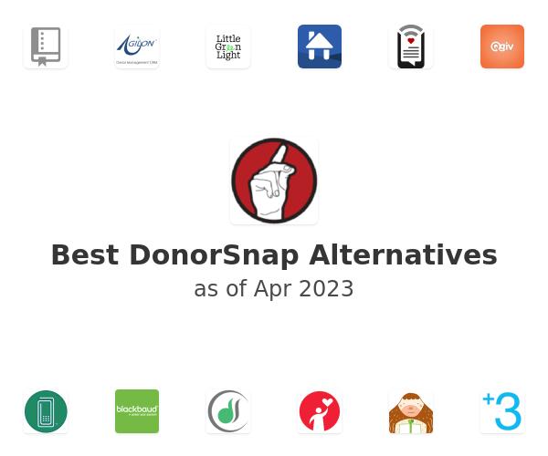 Best DonorSnap Alternatives
