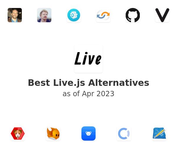 Best Live.js Alternatives