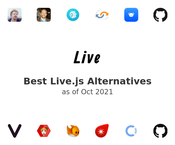 Best Live.js Alternatives