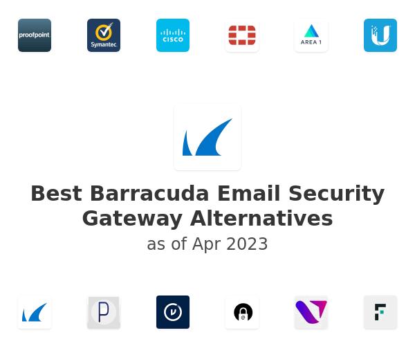 Best Barracuda Email Security Gateway Alternatives