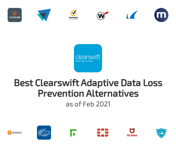 Best Clearswift Adaptive Data Loss Prevention Alternatives