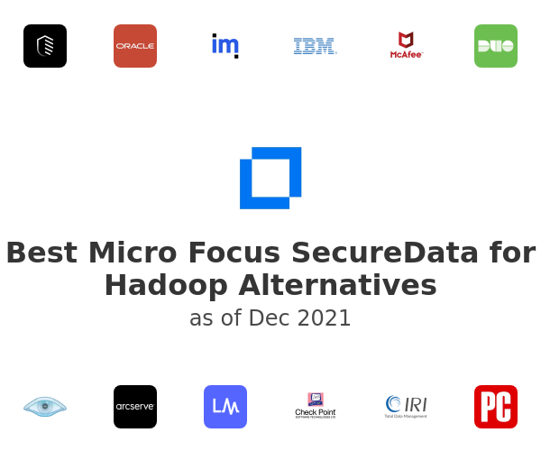 Best Micro Focus SecureData for Hadoop Alternatives