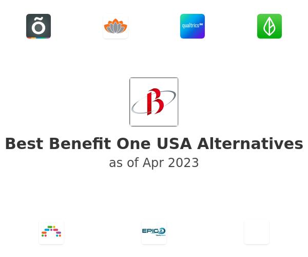 Best Benefit One USA Alternatives
