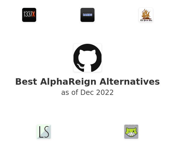 Best AlphaReign Alternatives