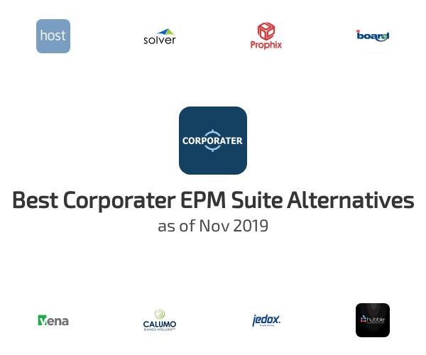 Best Corporater EPM Suite Alternatives