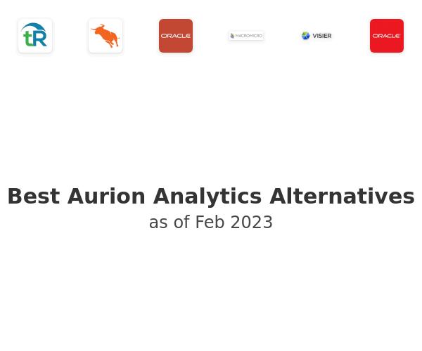 Best Aurion Analytics Alternatives