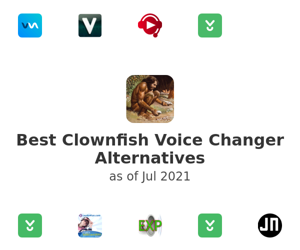 Best Clownfish Voice Changer Alternatives