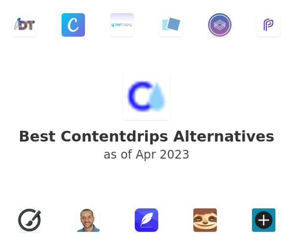 Best Contentdrips Alternatives