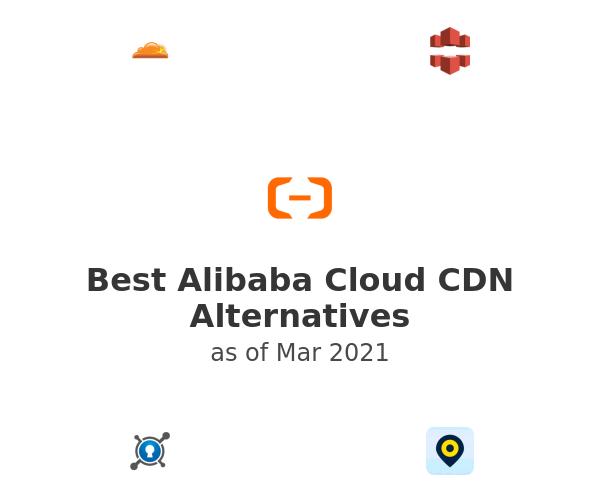 Best Alibaba Cloud CDN Alternatives