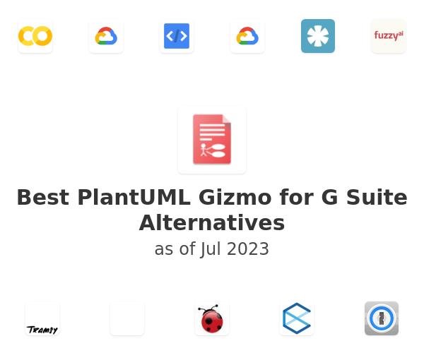 Best PlantUML Gizmo for G Suite Alternatives
