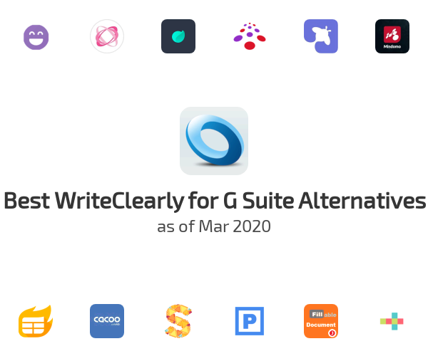 Best WriteClearly for G Suite Alternatives