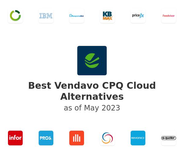 Best Vendavo CPQ Cloud Alternatives