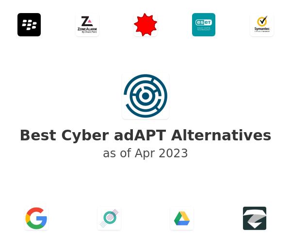 Best Cyber adAPT Alternatives