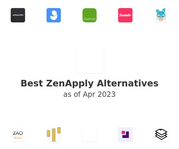 Best ZenApply Alternatives