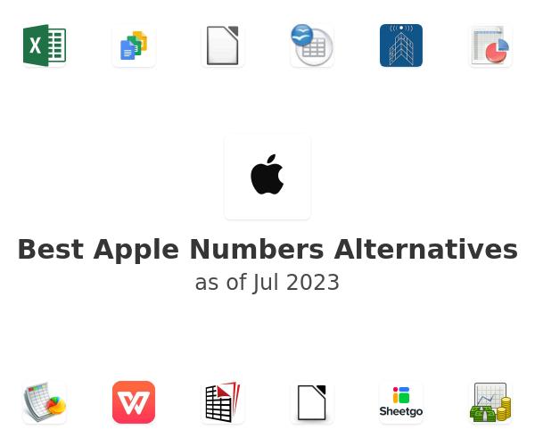 Best Apple Numbers Alternatives