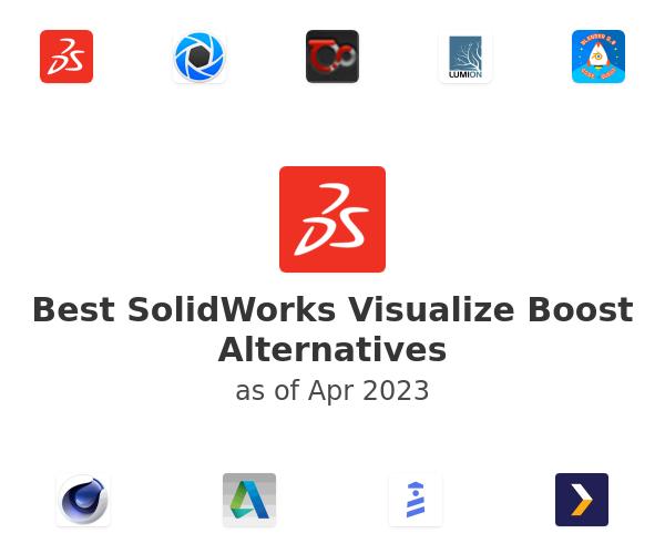 Best SolidWorks Visualize Boost Alternatives