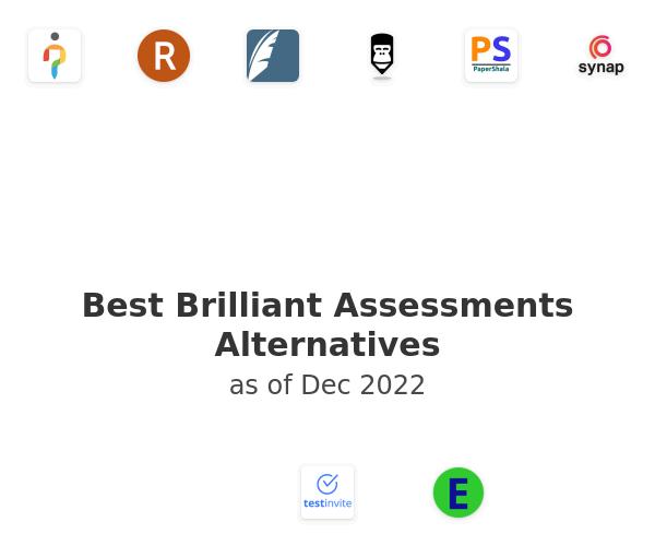 Best Brilliant Assessments Alternatives