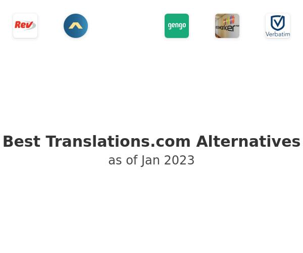Best Translations.com Alternatives