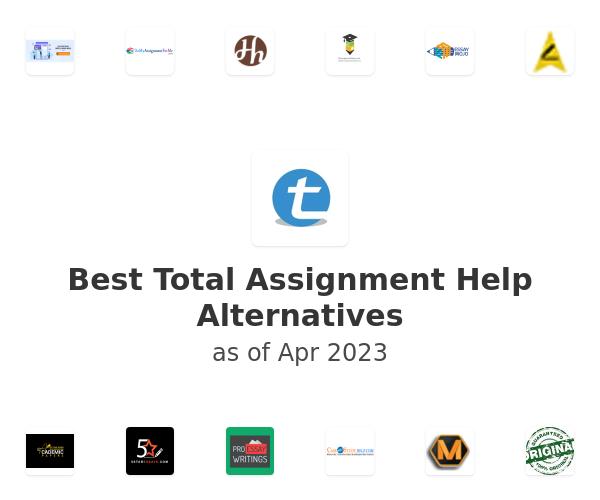 Best Total Assignment Help Alternatives