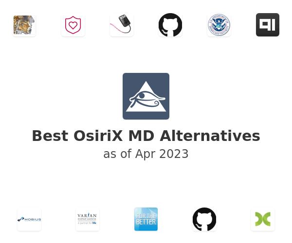 Best OsiriX MD Alternatives