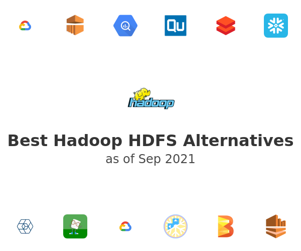 Best Hadoop HDFS Alternatives
