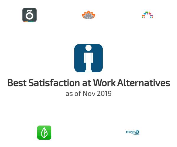 Best Satisfaction at Work Alternatives