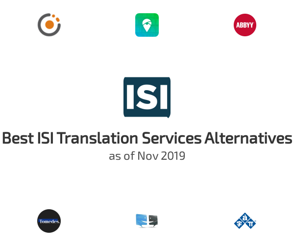 Best ISI Translation Services Alternatives
