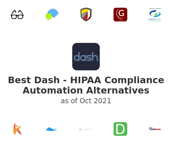 Best Dash - HIPAA Compliance Automation Alternatives