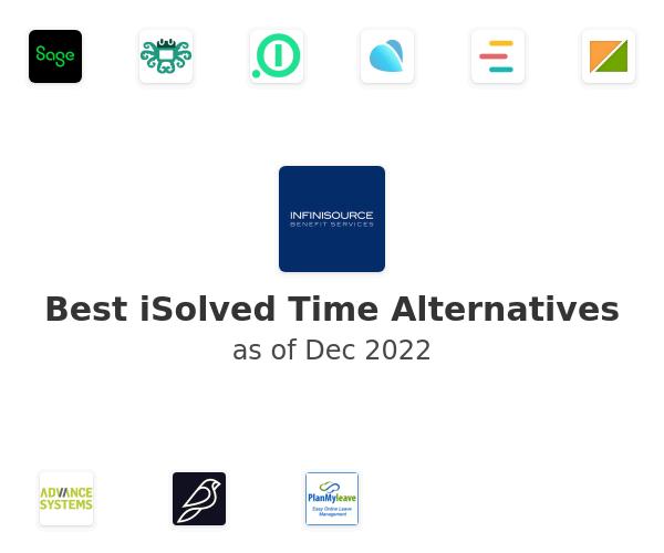 Best iSolved Time Alternatives