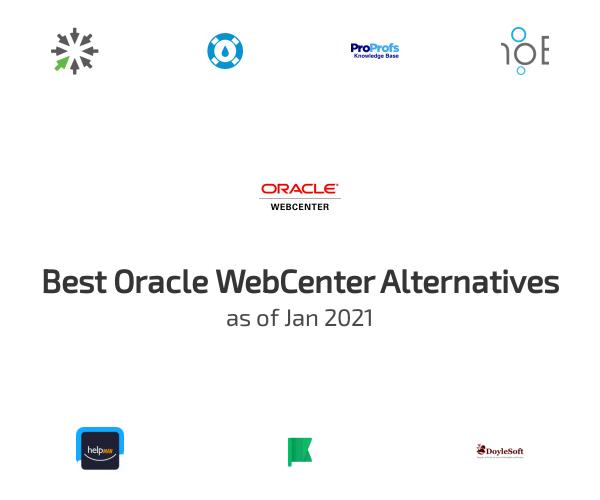 Best Oracle WebCenter Alternatives