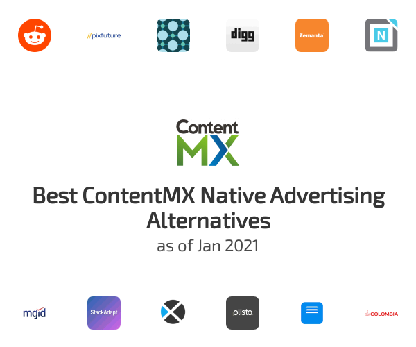 Best ContentMX Native Advertising Alternatives