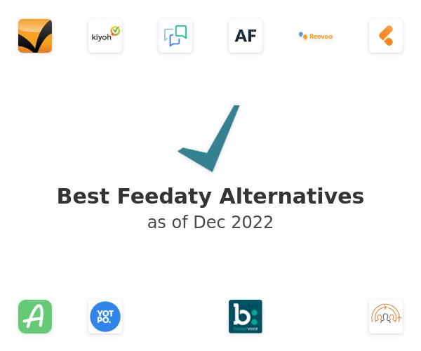 Best Feedaty Alternatives