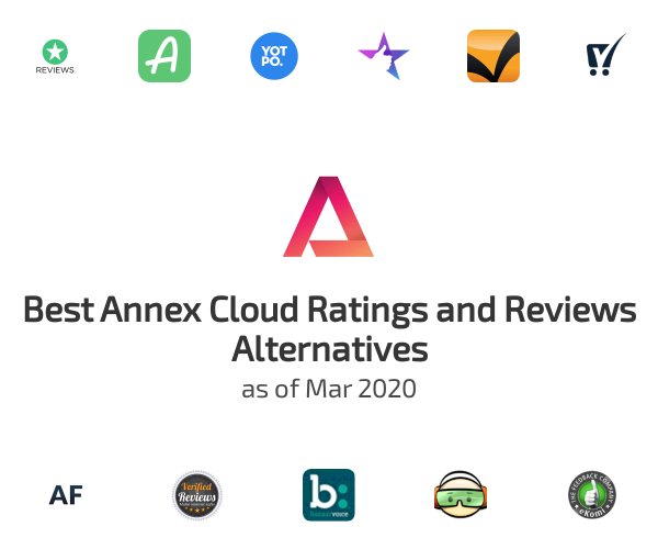 Best Annex Cloud Ratings and Reviews Alternatives