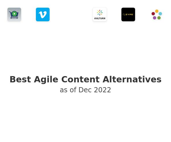 Best Agile Content Alternatives