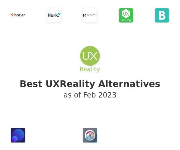 Best UXReality Alternatives