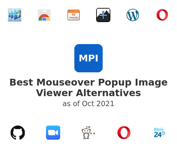 Best Mouseover Popup Image Viewer Alternatives