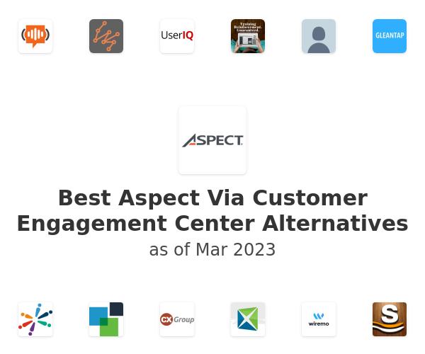 Best Aspect Via Customer Engagement Center Alternatives