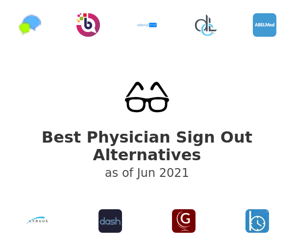 Best Physician Sign Out Alternatives