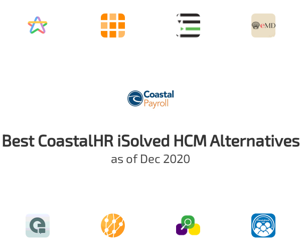 Best CoastalHR iSolved HCM Alternatives