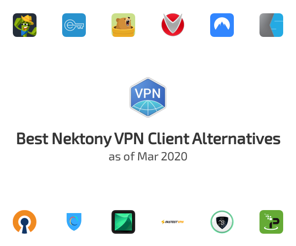 Best Nektony VPN Client Alternatives